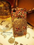 iPhone 5 hand-Made Colorful Bling Design Protector Case